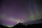 Aurora Borealis, northern lights, Skaftafell, Iceland, March 27, 2015, Kp 9,