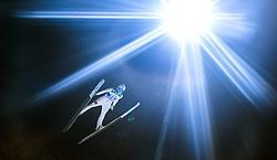 05.01.2015, Paul Ausserleitner Schanze, Bischofshofen, AUT, FIS Ski Sprung Weltcup, 63. Vierschanzentournee, Qualifikation, im Bild Mikhail Maksimochkin (RUS) // during Qualification of 63rd Four Hills Tournament of FIS Ski Jumping World Cup at the Paul Ausserleitner Schanze, Bischofshofen, Austria on 2015/01/05. EXPA Pictures © 2015, PhotoCredit: EXPA/ JFK