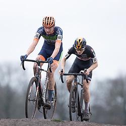 12-01-2020: Wielrennen: NK Veldrijden: Rucphen<br />(68) Hugo Kars, (38) Lucas Jansen