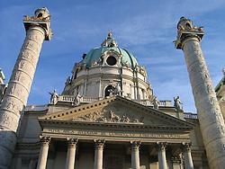 Karls Kirche, Karlskirche, St Charles' Church, Vienna, Wien, Austria