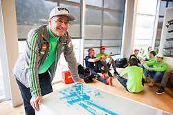 Stane Baloh Sten during official presentation of the outfits of the Slovenian Ski Teams before new season 2016/17, on October 18, 2016 in Planica, Slovenia. Photo by Vid Ponikvar / Sportida