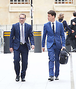 Andrew Marr Show arrivals <br /> at BBC Broadcasting House, London, Great Britain <br /> 17th July 2016 <br /> <br /> Owen Smith <br /> arriving for the show <br /> <br /> <br /> Photograph by Elliott Franks <br /> Image licensed to Elliott Franks Photography Services