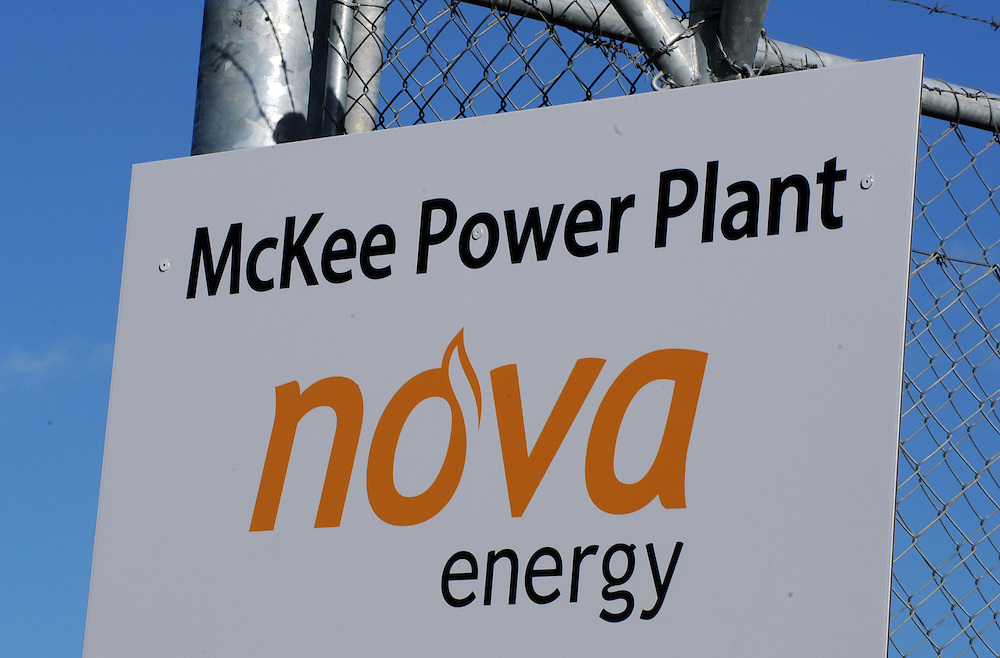 Nova McKee Power Plant, New Plymouth, New Zealand, Friday, June 21 2013. Credit:SNPA / Ross Setford