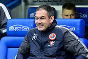 Reading manager Paul Clement during the EFL Sky Bet Championship match between Reading and Queens Park Rangers at the Madejski Stadium, Reading, England on 30 March 2018. Picture by Graham Hunt.