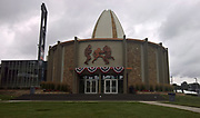 Aug 1, 2018; Canton, OH, USA; General overall view of the Pro Football Hall of Fame. (Walt Middleton/Image of Sport)