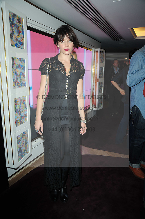 DAISY LOWE at a party hosted by Links of London in celebration of Cat Deeley&Otilde;s role as global brand ambassador of Links of London and to launch the AW10 campaign held at The Club at The Ivy (The Loft), 9 West Street, WC2 on 16th September 2010.<br /> DAISY LOWE at a party hosted by Links of London in celebration of Cat Deeley&rsquo;s role as global brand ambassador of Links of London and to launch the AW10 campaign held at The Club at The Ivy (The Loft), 9 West Street, WC2 on 16th September 2010.