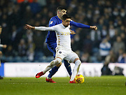 Leeds United midfielder Pablo Hernandez (19)  during the EFL Sky Bet Championship match between Leeds United and Cardiff City at Elland Road, Leeds, England on 3 February 2018. Picture by Paul Thompson.