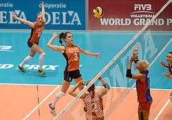 08-08-2014 NED: FIVB Grand Prix Nederland - Puerto Rico, Doetinchem<br /> Yvon Belien