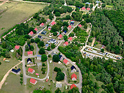 Nederland, Gelderland, Gemeente Ede, 21–06-2020; Oostdorp, militair oefendorp gelegen nabij het Infanterie Schietkamp Harskamp op de Hoge Veluwe. <br /> Harskamp, Oostdorp, training village located near the Infanterie Schietkamp in National Park De Hoge Veluwe.<br /> <br /> luchtfoto (toeslag op standaard tarieven);<br /> aerial photo (additional fee required)<br /> copyright © 2020 foto/photo Siebe Swart