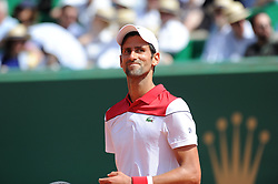 April 18, 2018 - Monaco - Tennis - Monaco - Novak Djokovic Serbie (Credit Image: © Panoramic via ZUMA Press)