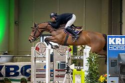 Stoffelen Jan, BEL, Niara<br /> Nationaal Indoorkampioenschap  <br /> Oud-Heverlee 2020<br /> © Hippo Foto - Dirk Caremans