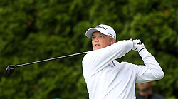 June 23, 2018 - Cromwell, Connecticut, United States - Matt Jones tees off the 9th hole during the third round of the Travelers Championship at TPC River Highlands. (Credit Image: © Debby Wong via ZUMA Wire)