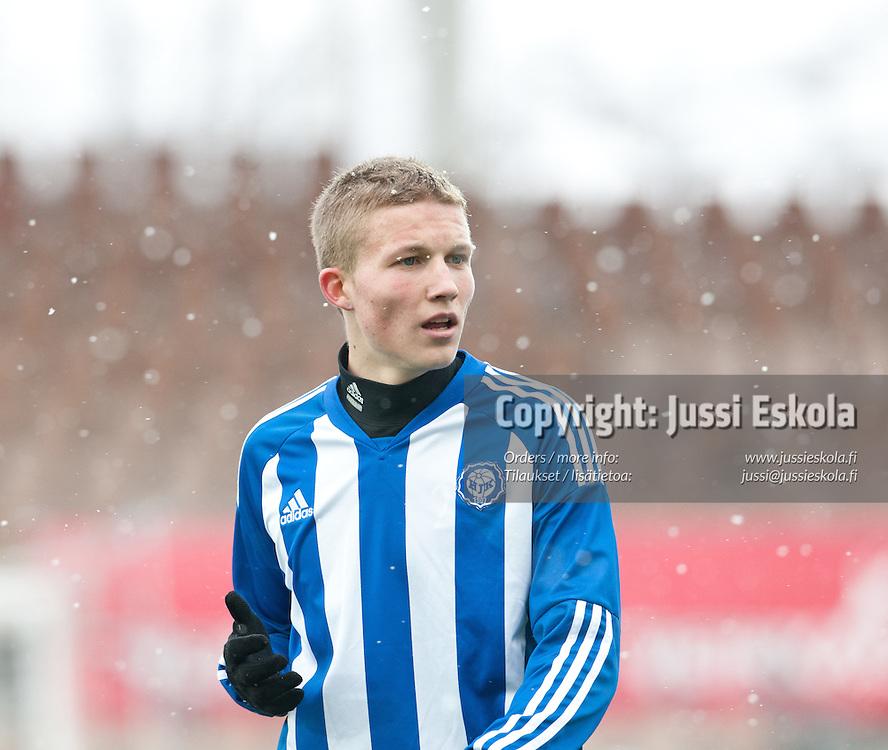 Alexander Ring. HJK - KuPS. Liigacup. Helsinki 19.3.2011. Photo: Jussi Eskola