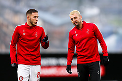 Josh Brownhill and Jack Hunt of Bristol City - Rogan/JMP - 07/12/2019 - Craven Cottage - London, England - Fulham v Bristol City - Sky Bet Championship.