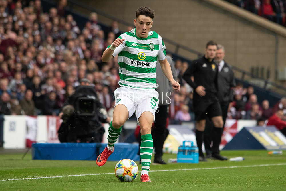 Michael Johnston of Celtic during the William Hill Scottish Cup Final match between Heart of Midlothian and Celtic at Hampden Park, Glasgow, United Kingdom on 25 May 2019.