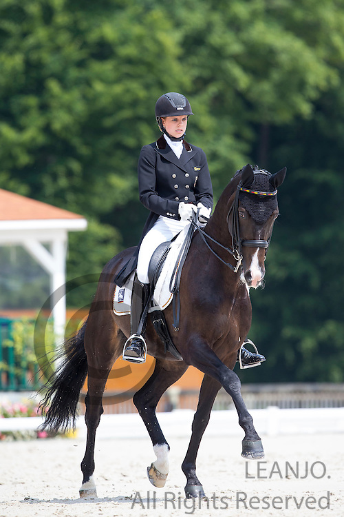 Johanne Pauline von Danwitz - Habitus 10<br /> FEI European Dressage Championships for Young Riders and Juniors 2013<br /> &copy; DigiShots