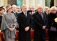 Church Service for the deceased members of the Belgium Royal Family
