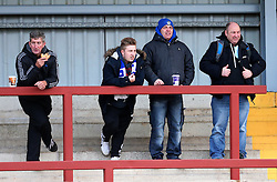 Bristol Rovers fans - Mandatory by-line: Matt McNulty/JMP - 14/01/2017 - FOOTBALL - Highbury Stadium - Fleetwood, England - Fleetwood Town v Bristol Rovers - Sky Bet League One