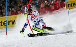 "29.01.2019, Planai, Schladming, AUT, FIS Weltcup Ski Alpin, Slalom, Herren, 1. Lauf, im Bild Alexis Pinturault (FRA) // Alexis Pinturault of France in action during his 1st run of men's Slalom ""the Nightrace"" of FIS ski alpine world cup at the Planai in Schladming, Austria on 2019/01/29. EXPA Pictures © 2019, PhotoCredit: EXPA/ Martin Huber"