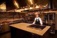 Chef Julia Sullivan of Haven's Kitchen in New York City...Photo by Robert Caplin.