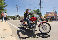 Bike Week 2015 Lakeside Avenue Weirs Beach, NH.  Karen Bobotas for the Laconia Daily Sun