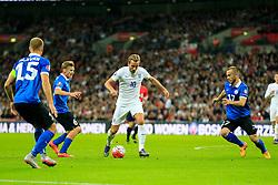 Harry Kane of England puts Estonia under pressure - Mandatory byline: Jason Brown/JMP - 07966 386802 - 09/10/2015- FOOTBALL - Wembley Stadium - London, England - England v Estonia - Euro 2016 Qualifying - Group E