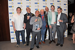 DAVID BAILEY and six other David Baileys at the launch of Samsung's NX Smart Camera at charity auction with David Bailey in aid of Marie Curie Cancer Care at the Bulgari Hotel, 171 Knightsbridge, London on 14th May 2013.