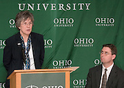 3/31/06..Contact: Director of Media Relations Jack Jeffery at 740-597-1793 or jefferyj@ohio.edu, or Media Relations Coordinator Jessica Stark at 740-597-2938 or starkj@ohio.edu..Editors: A photo of Benjamin Ogles is available at http://www.ohiou.edu/news/pix/ogles_ben.jpg.www.ohiou.edu/news/pix/ogles1.jpg.www.ohiou.edu/news/pix/ogles2.jpg.www.ohiou.edu/news/pix/ogles3.jpg.www.ohiou.edu/news/pix/ogles4.jpg.www.ohiou.edu/news/pix/ogles5.jpg.OHIO UNIVERSITY NAMES BENJAMIN OGLES DEAN.OF COLLEGE OF ARTS AND SCIENCES..ATHENS, Ohio ? Benjamin M. Ogles, Ph.D., has been named dean of the College of Arts and Sciences at Ohio University, effective April 3, 2006, President Roderick J. McDavis announced today. Ogles was named interim dean of the college in May 2005...?Following an extensive national search, it became apparent that Dr. Benjamin Ogles is the best person to serve as dean of the College of Arts and Sciences,? McDavis said. ?Serving as interim dean, Ben displayed the ideal professional and personal qualities for this position. As an advocate for the mission of public higher education, he is dedicated to providing the best possible learning environment for our students.?..As dean, Ogles will provide leadership for the college's 19 departments, multiple interdisciplinary and specialized programs, research centers and institutes, and education abroad. Ogles succeeds Leslie Flemming, who left the university to participate in the Master of Divinity program at Bexley Hall, an Episcopal seminary in Columbus...?Ben is a gifted leader who has earned the respect of his colleagues in the college and across the university,? Provost Kathy Krendl said. ?He has demonstrated a leadership style that relies on bringing individuals together, gathering all relevant information, and then making decisions in the best interest of the college and the university.?..?I am honored to be named dean and am very excited about this opportunity to serve Ohio University and the College of Arts and S