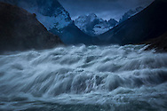 South America,Patagonia, Chile, Torres del Paine,  UNESCO, World Heritage, Salto Grande