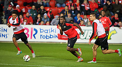 ADELAIDE, AUSTRALIA - Sunday, July 19, 2015: Liverpool's Sheyi Ojo during a training session at Coopers Stadium ahead of a preseason friendly match against Adelaide United on day seven of the club's preseason tour. (Pic by David Rawcliffe/Propaganda)