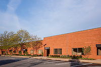 Architectural photo of Caton Research Center office building by Jeffrey Sauers of Commercial Photographics