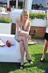 MEREDITH OSTROM at the Audi International Polo Day held at Guards Polo Club, Smith's Lawn, Windsor on 22nd July 2012.