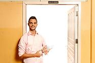 Boa Esperança - ES, BRASIL - March 13 of 2017: Wemerson Nogueira, 26 anos, professor da rede pública de ensino do estado do Espírito Santo, posa para foto no laboratório de ciências escola EEEFM Antonio dos Santos Neves. Wemerson é um dos dez finalistas do prêmio Global Teacher Prize. Foto: Caio Guatelli