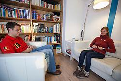 Jan Dierens (BEL), sportpshycholoog<br /> Sessie met Delphine Meiresonne<br /> Herselt 2013<br /> © Dirk Caremans
