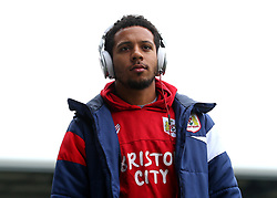 Korey Smith of Bristol City arrives at The Pirelli Stadium for the Sky Bet Championship match with Burton Albion - Mandatory by-line: Robbie Stephenson/JMP - 10/03/2018 - FOOTBALL - Pirelli Stadium - Burton upon Trent, England - Burton Albion v Bristol City - Sky Bet Championship