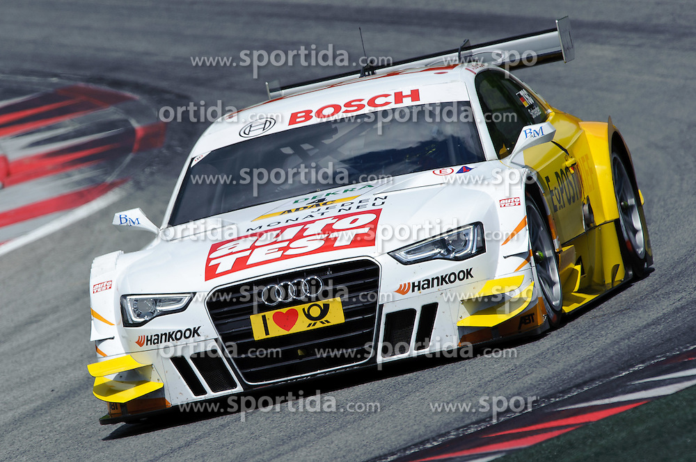 03.06.2012, Red Bull Ring, Spielberg, AUT, DTM Red Bull Ring, Qualifying, im Bild Timo Scheider, (GER, ABT Sportsline) // during the DTM training day on the Red Bull Circuit in Spielberg, 2012/06/02, EXPA Pictures © 2012, PhotoCredit: EXPA/ S. Zangrando
