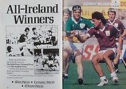 All Ireland Senior Hurling Championship Final, .04.09.1988. 09.04.1988, 4th September 1988,.4091988AISHCF,.Galway 1-15, Tipperary 0-14,.Galway v Tipperary, .The Irish Press, Evening Press, The Sunday Press,.