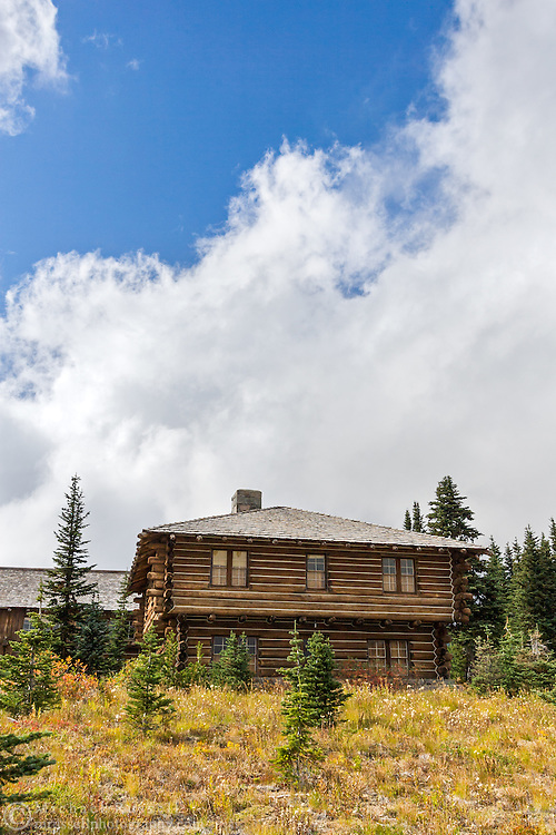Building of the Yakima Stockade Group at the Sunrise area in Mount Rainier National Park, Washington State, USA