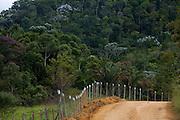 Santa Leopoldina_ES, Brasil...Trecho da Rota imperial da Estrada Real, antiga estrada de Dom Pedro de Alcantra...Ancient Rota Imperial, know as Dom Pedro de Alcantara Road...Foto: LEO DRUMOND / NITRO