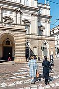 Milan, Piazza della Scala