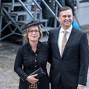 NLD/Den Haag/20170919 - Prinsjesdag 2017, Emile roemer en partner Aime Jilissen