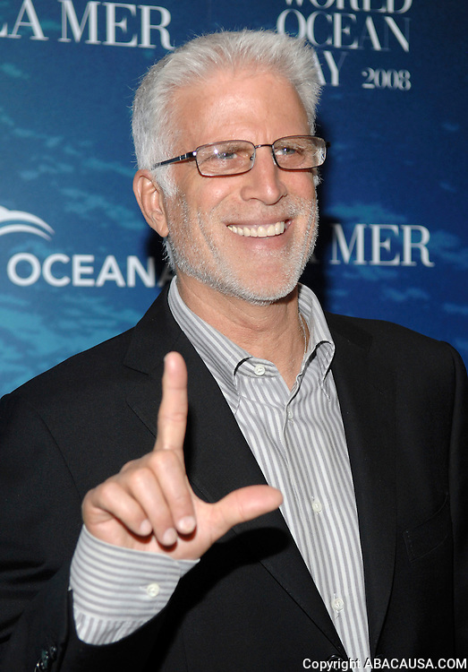 Actor and Oceana Board of Directors member Ted Danson poses at the La Mer and Oceana party for World Ocean Day 2008 in New York City, USA on June 4, 2008.