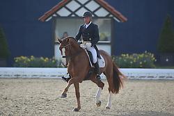 Klimke Michael, (GER), Djamba Djokiba<br /> Intermediare II - Louisdor-Preis<br /> Horses & Dreams meets Denmark - Hagen 2016<br /> © Hippo Foto - Stefan Lafrentz