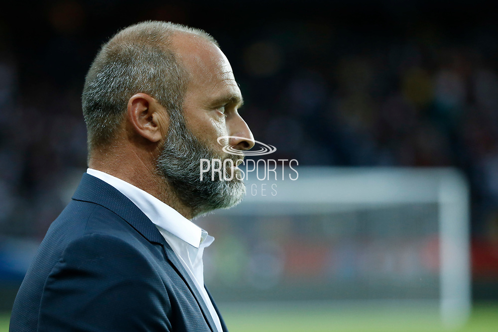 Pascal Dupraz (Toulouse Football Club) during the French championship L1 football match between Paris Saint-Germain (PSG) and Toulouse Football Club, on August 20, 2017, at Parc des Princes, in Paris, France - Photo Stephane Allaman / ProSportsImages / DPPI