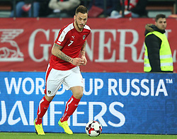 24.03.2017, Ernst Happel Stadion, Wien, AUT, FIFA WM 2018 Qualifikation, Oesterreich vs Moldawien, Gruppe D, im Bild Marko Arnautovic (AUT) // during the FIFA World Cup 2018, group D qualifying match between Austria and Moldova at the Ernst Happel Stadion in Wien, Austria on 2017/03/24. EXPA Pictures © 2017, PhotoCredit: EXPA/ Thomas Haumer