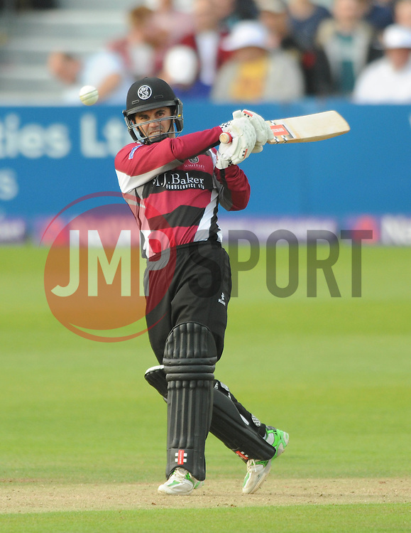 Peter Trego of Somerset - Photo mandatory by-line: Dougie Allward/JMP - Mobile: 07966 386802 - 19/06/2015 - SPORT - Cricket - Bristol - County Ground - Gloucestershire v Somerset - Natwest T20 Blast