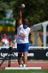 SEKEME Soselito, FRA, Shot Put, F46, 2013 IPC Athletics World Championships, Lyon, France