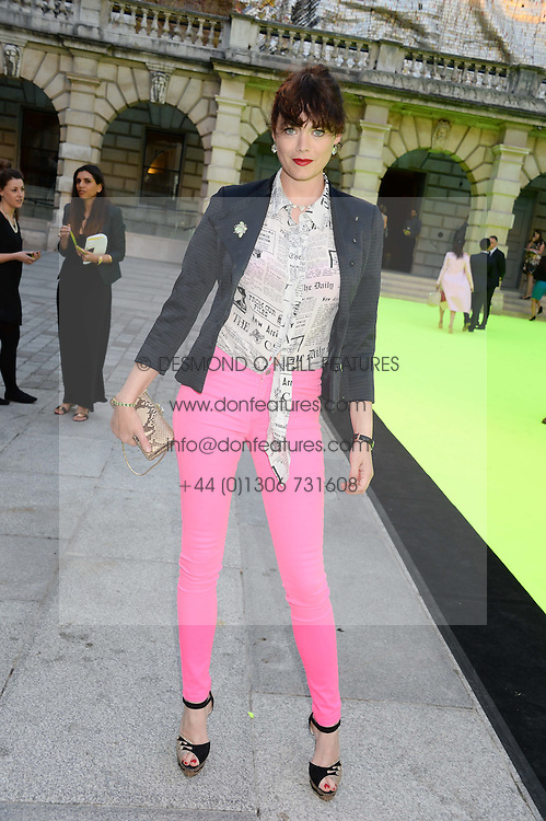 JASMINE GUINNESS at the preview party for The Royal Academy Of Arts Summer Exhibition 2013 at Royal Academy of Arts, London on 5th June 2013.