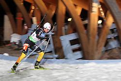 04.01.2012, DKB-Ski-ARENA, Oberhof, GER, E.ON IBU Weltcup Biathlon 2012, Staffel Frauen, im Bild Andrea Henkel (GER) .// during relay Ladies of E.ON IBU World Cup Biathlon, Thüringen, Germany on 2012/01/04. EXPA Pictures © 2012, PhotoCredit: EXPA/ nph/ Hessland..***** ATTENTION - OUT OF GER, CRO *****