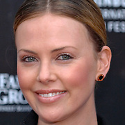 Southafrican actress Charlize Theron at Edinburgh International Film festival 2006<br />